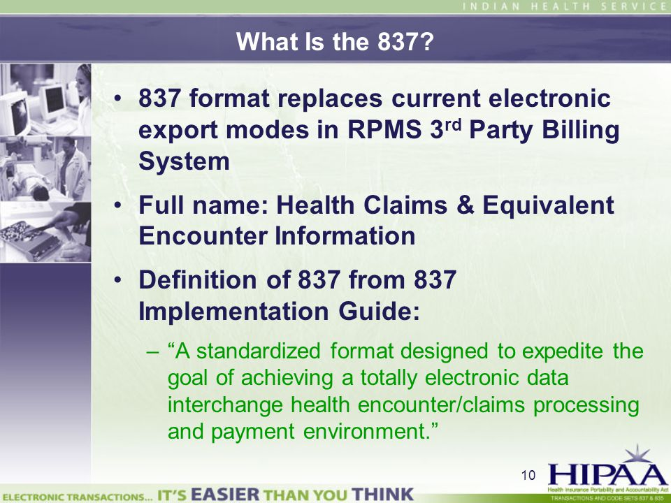 Full name: Health Claims & Equivalent Encounter Information