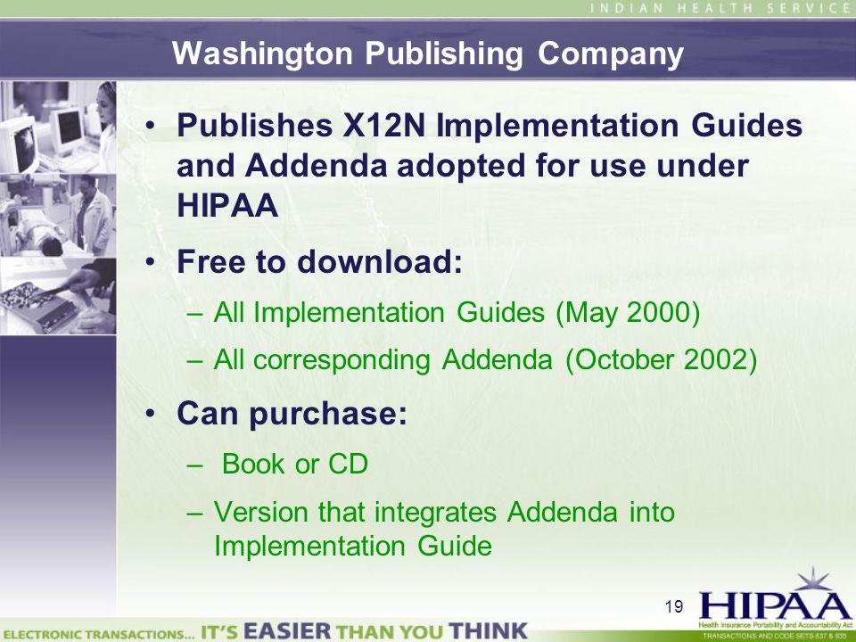 Washington Publishing Company