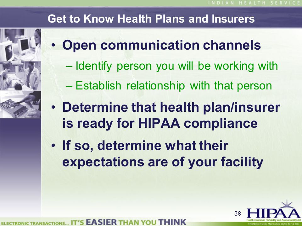 Get to Know Health Plans and Insurers