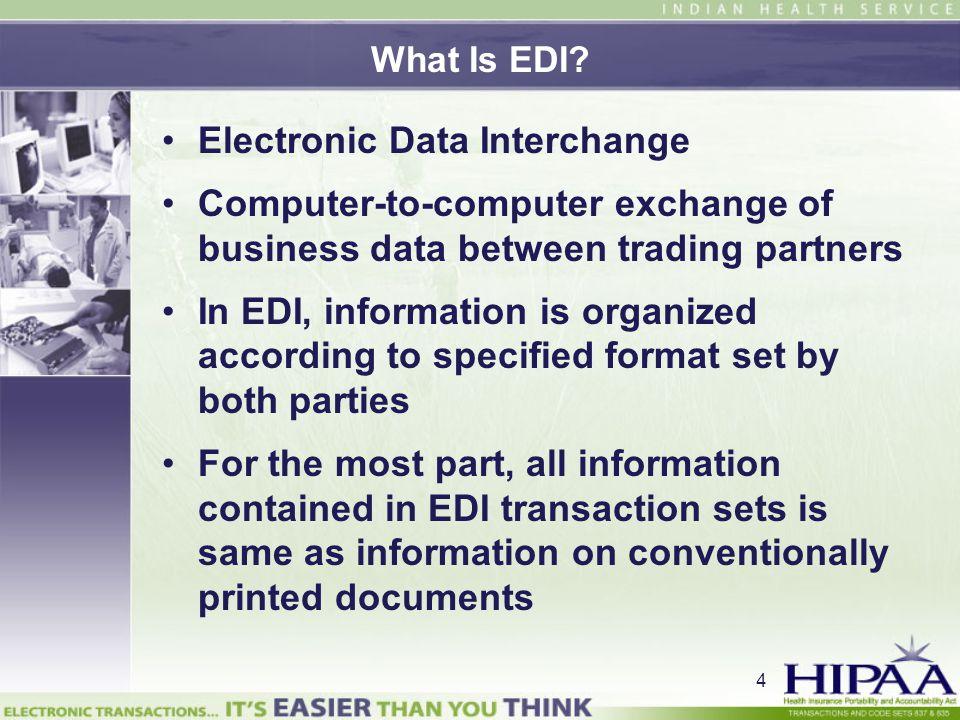 Electronic Data Interchange