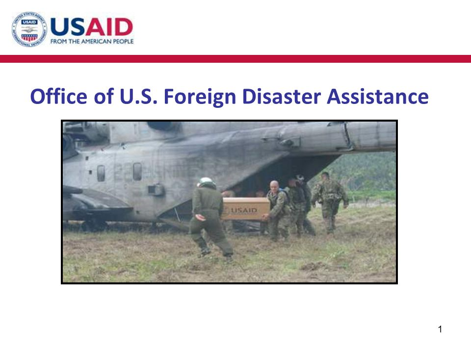 Office of U.S. Foreign Disaster Assistance