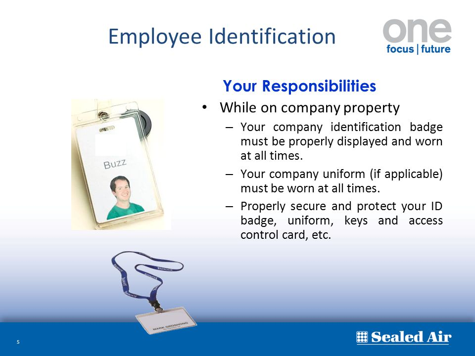 Employee Identification