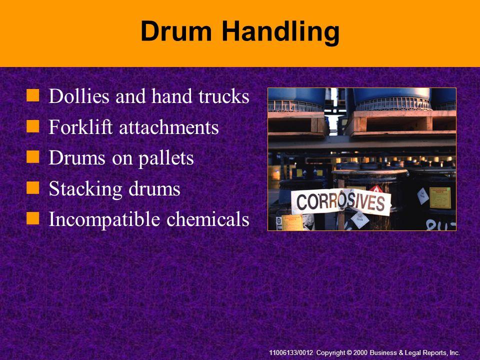 Drum Handling Dollies and hand trucks Forklift attachments