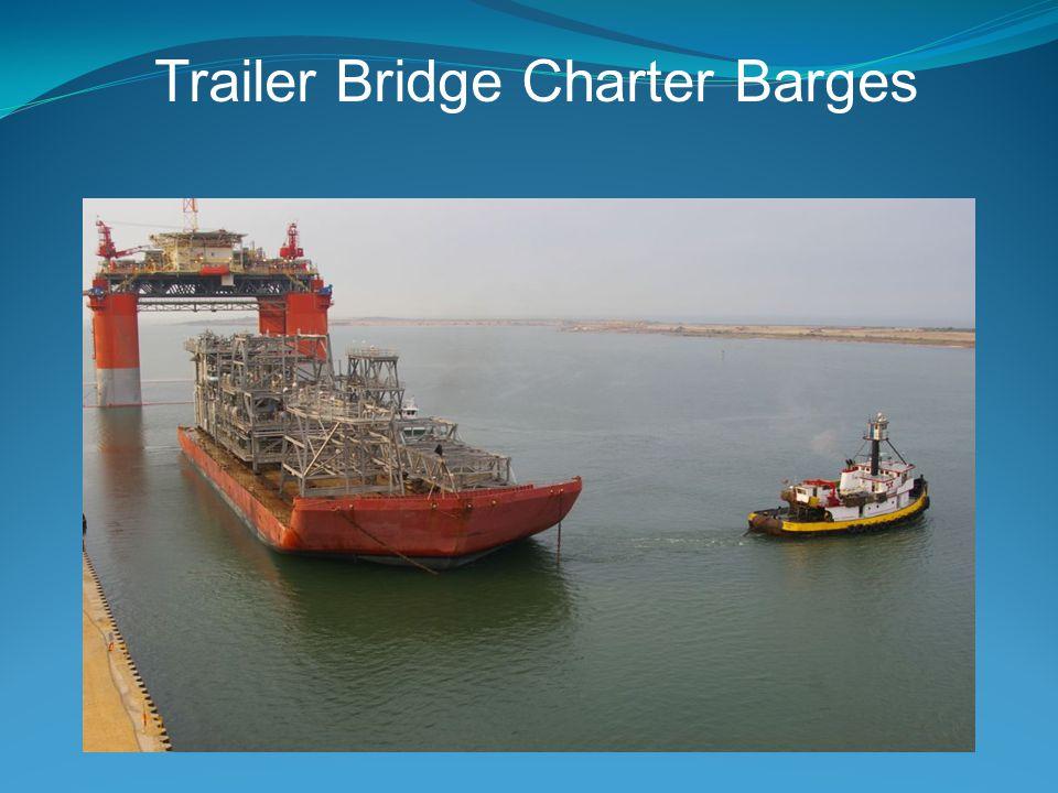 Trailer Bridge Charter Barges