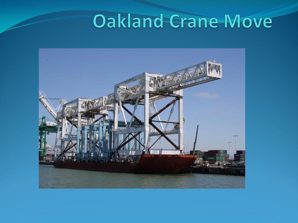 Oakland Crane Move