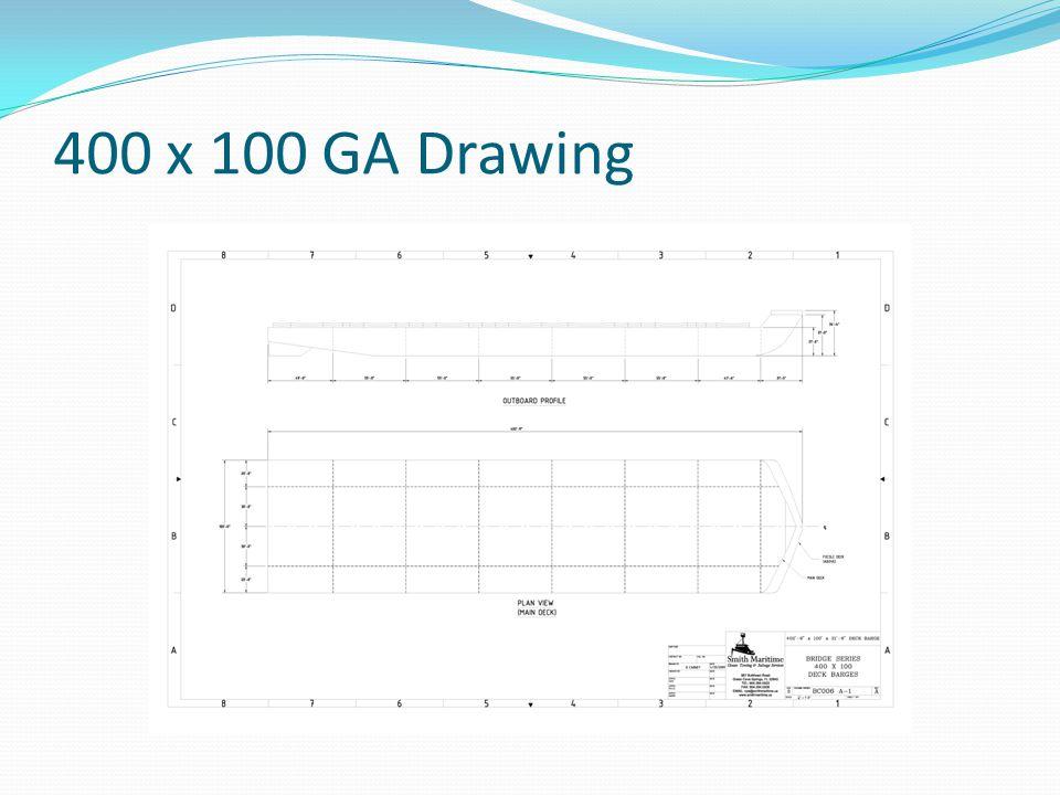 400 x 100 GA Drawing