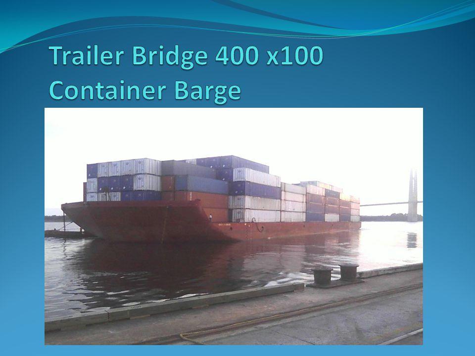 Trailer Bridge 400 x100 Container Barge