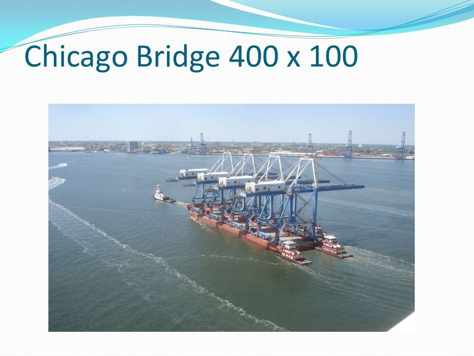 Chicago Bridge 400 x 100