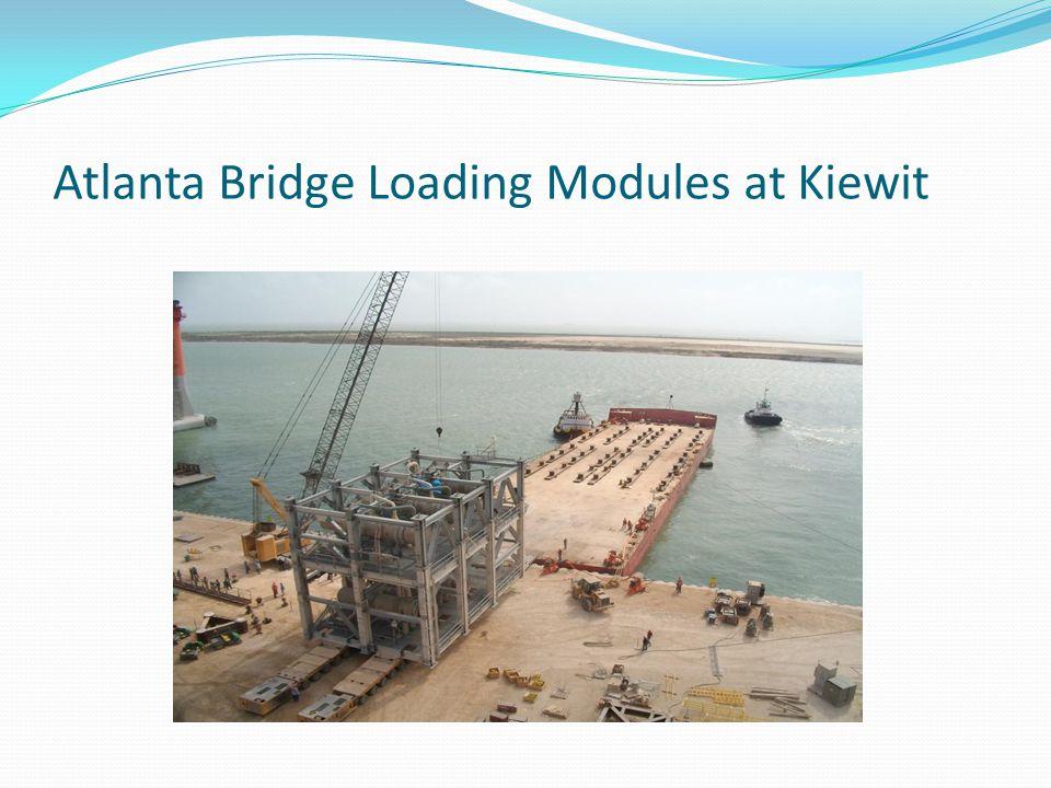 Atlanta Bridge Loading Modules at Kiewit