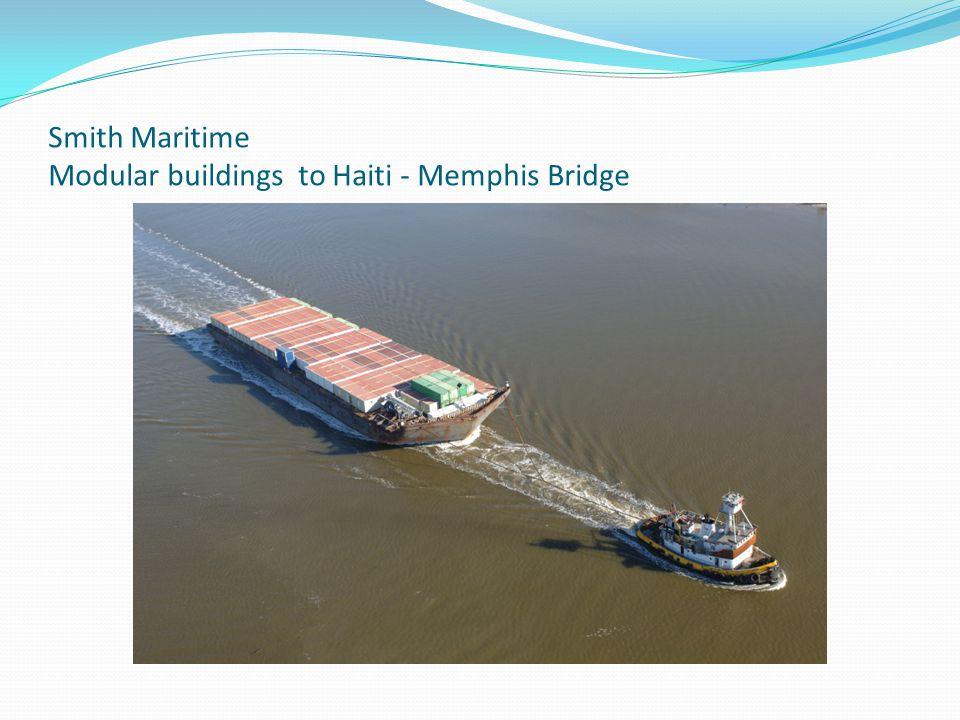 Smith Maritime Modular buildings to Haiti - Memphis Bridge