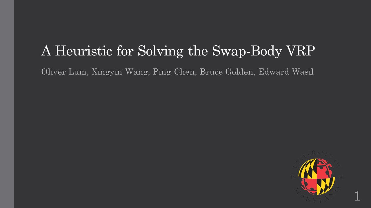A Heuristic for Solving the Swap-Body VRP