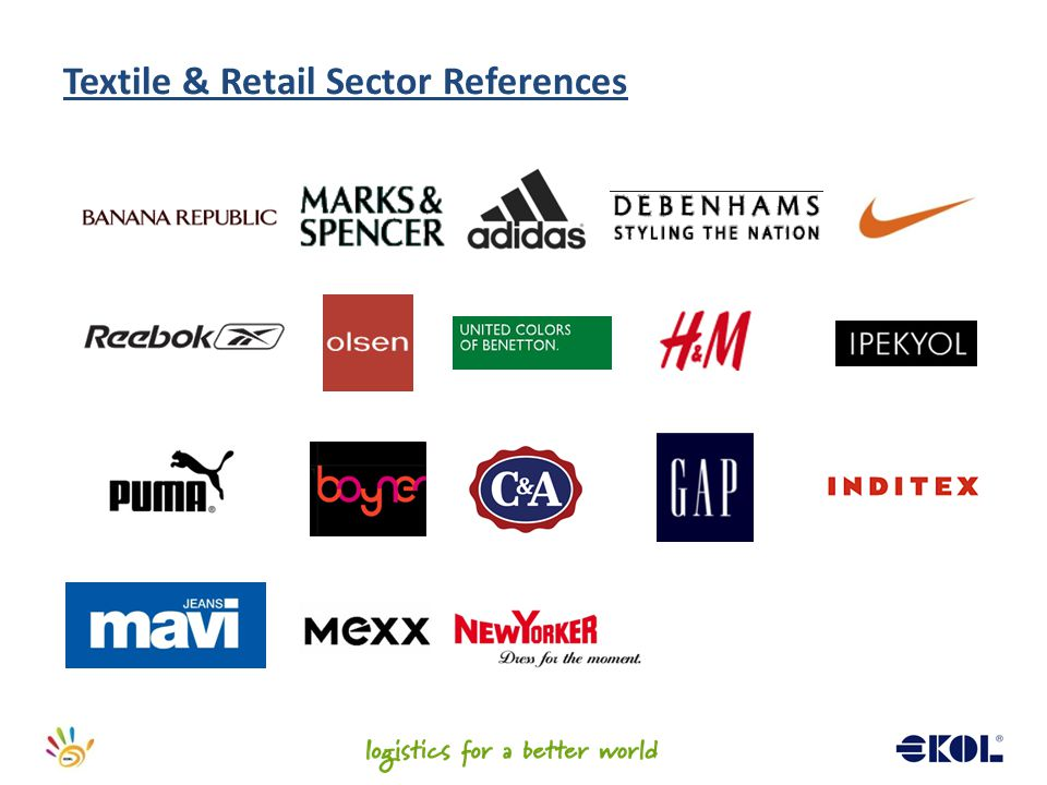 Textile & Retail Sector References
