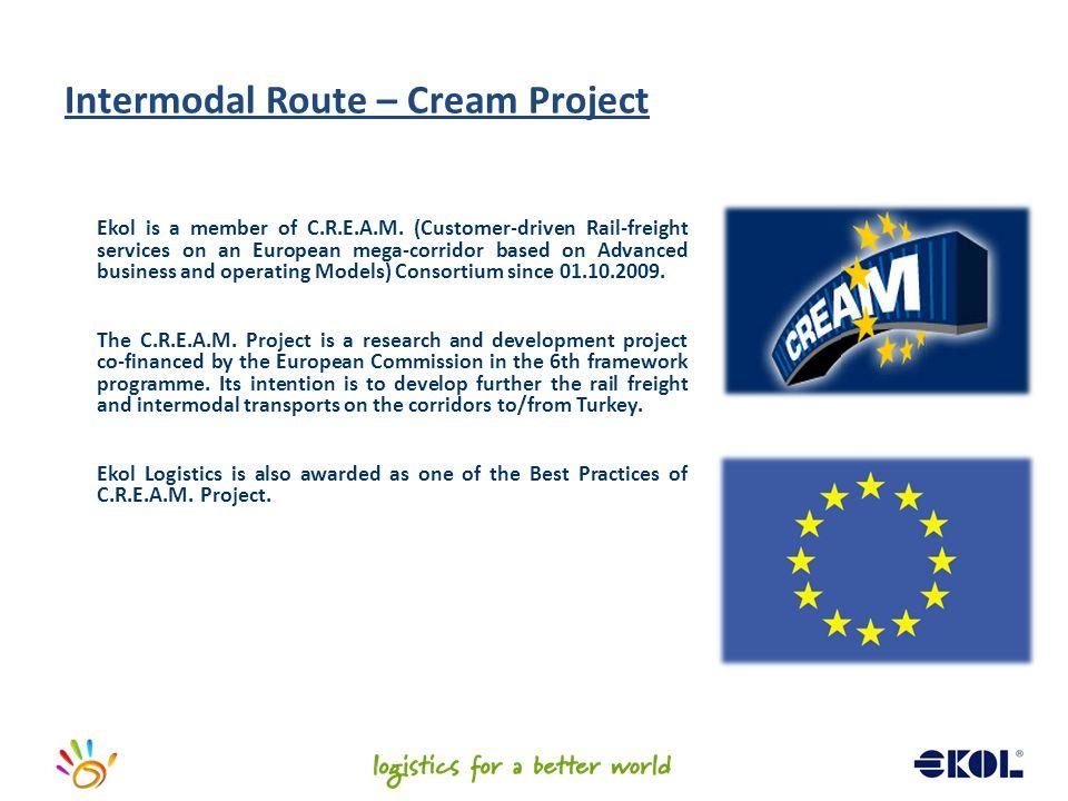 Intermodal Route – Cream Project
