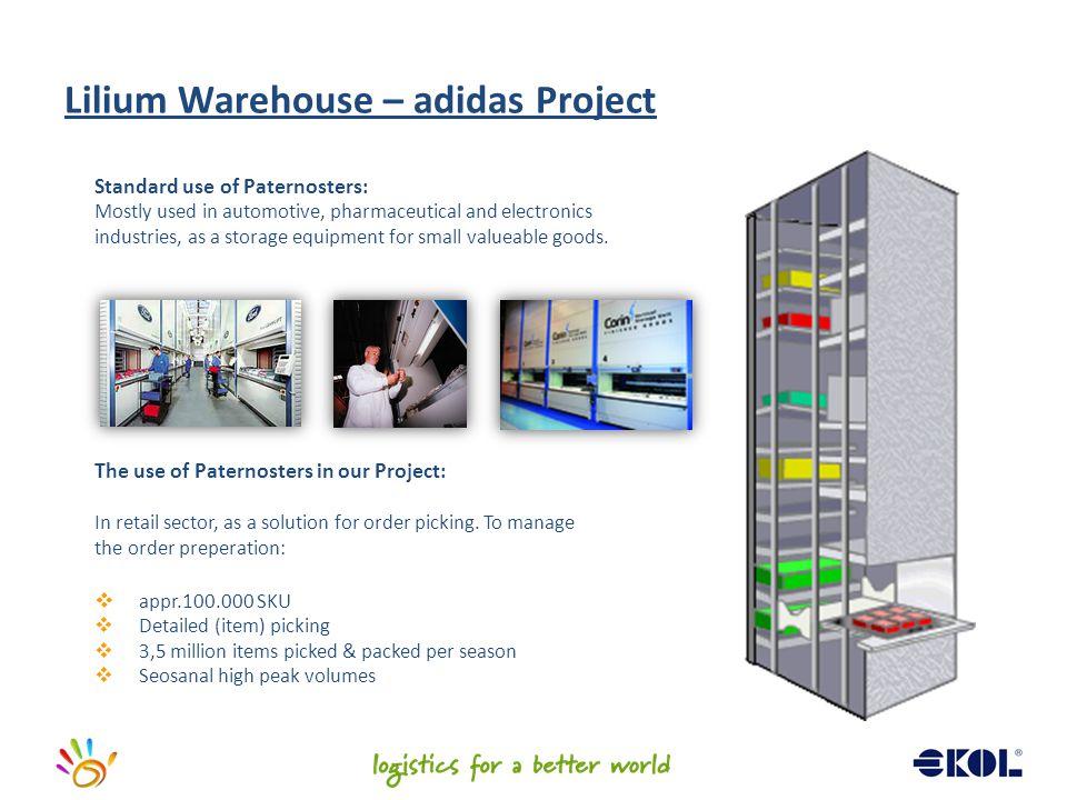 Lilium Warehouse – adidas Project
