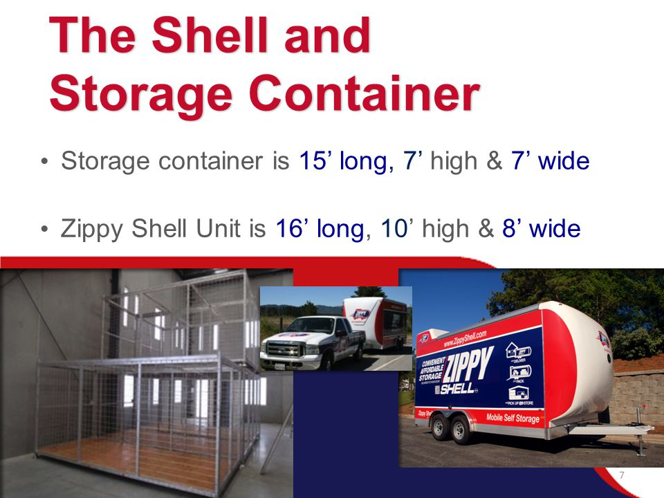 The Shell and Storage Container
