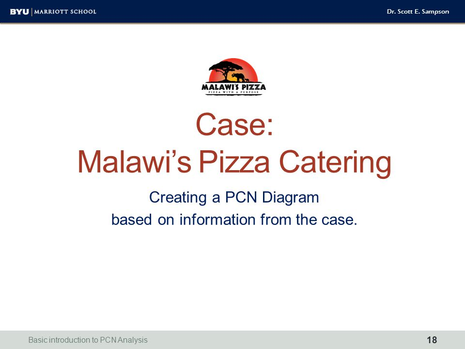 Case: Malawi's Pizza Catering