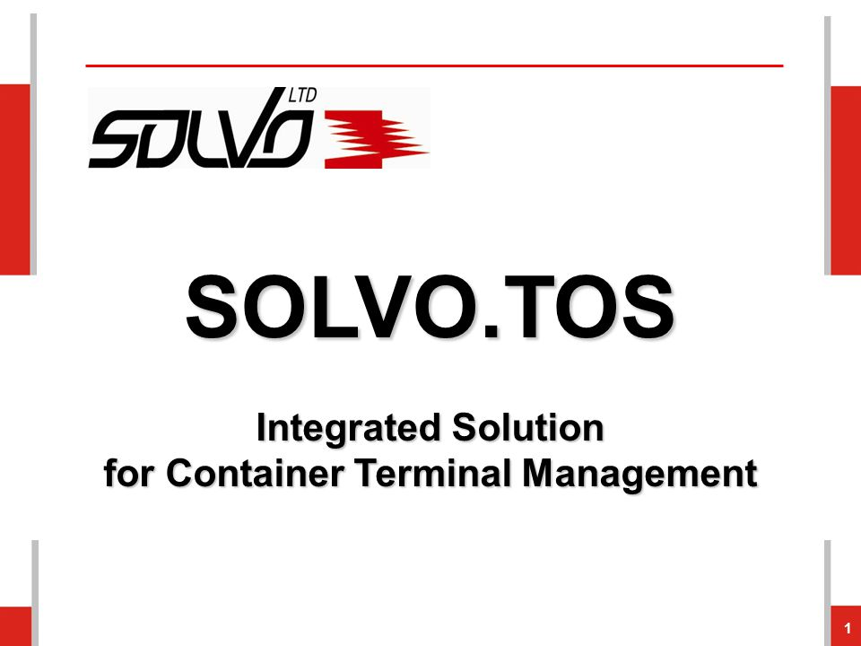 for Container Terminal Management