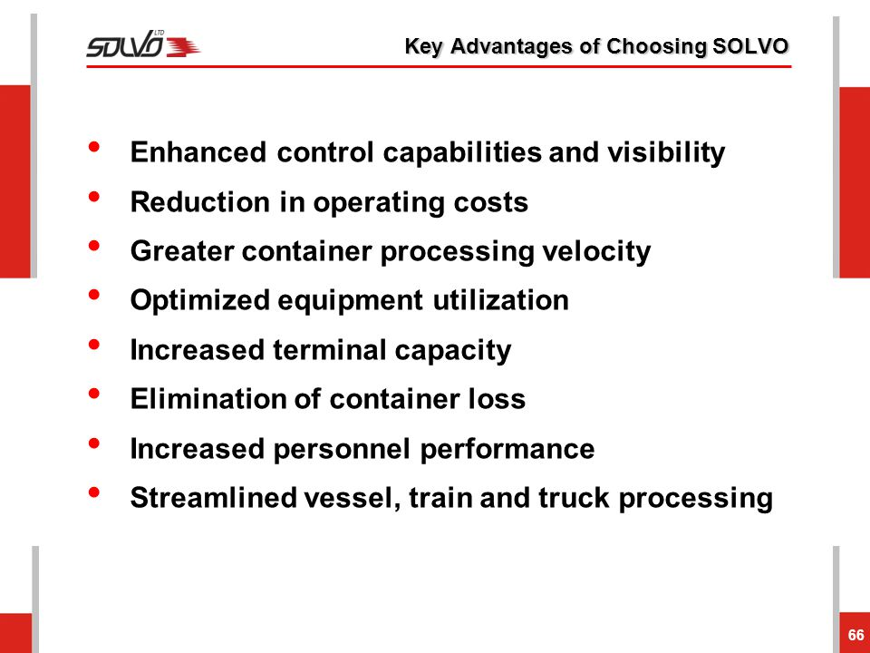 Key Advantages of Choosing SOLVO