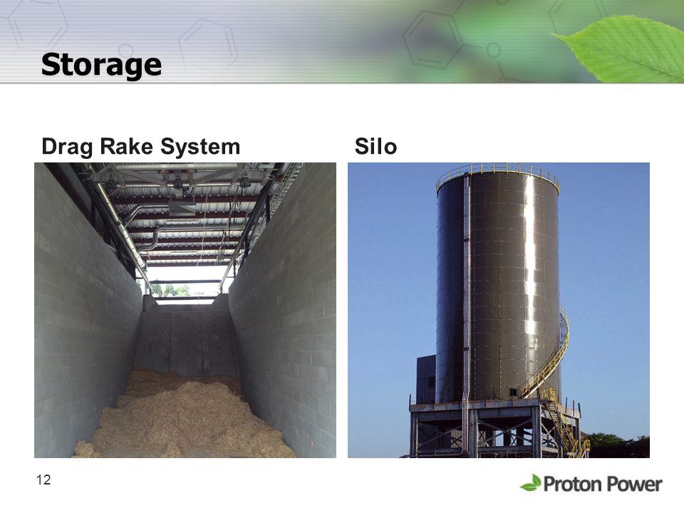 Storage Drag Rake System Silo