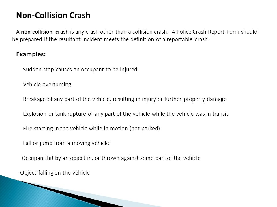 Crash Reporting System - Ppt Download