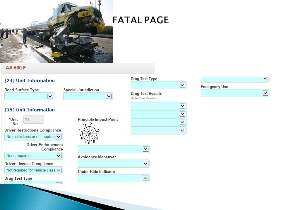 FATAL PAGE