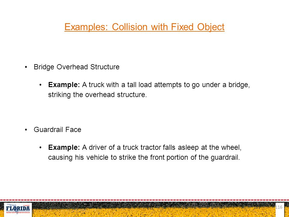 Examples: Collision with Fixed Object