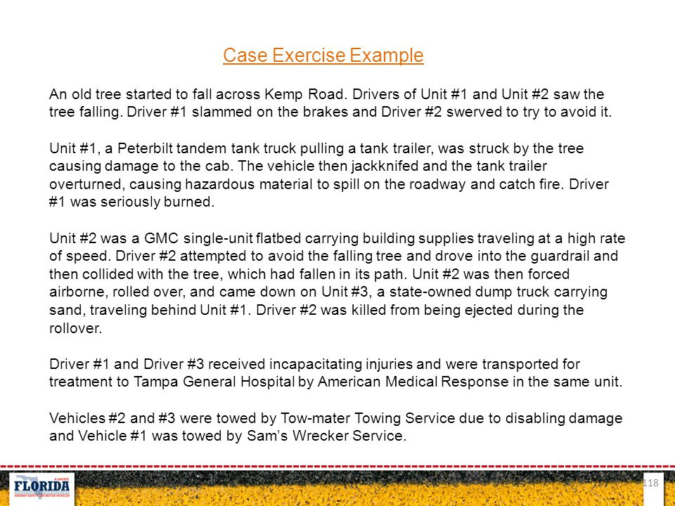 Case Exercise Example
