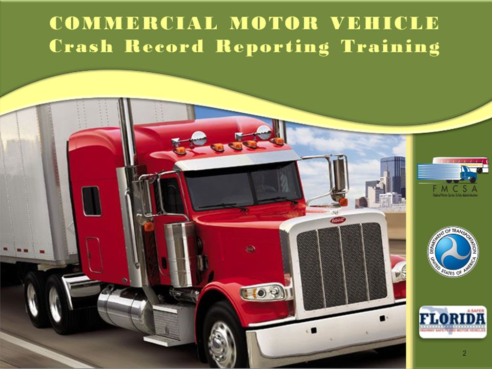 Commercial Motor Vehicle Crash Record Reporting