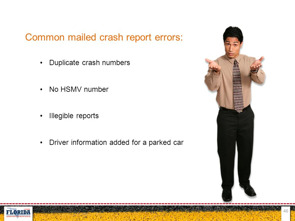 Common mailed crash report errors:
