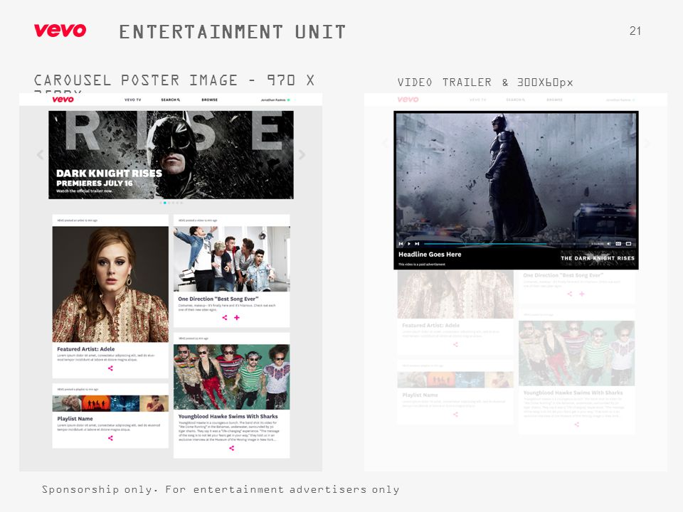 ENTERTAINMENT UNIT CAROUSEL POSTER IMAGE – 970 X 350PX
