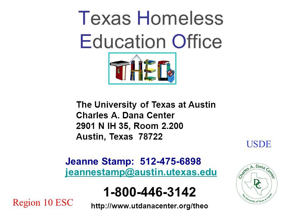 Texas Homeless Education Office