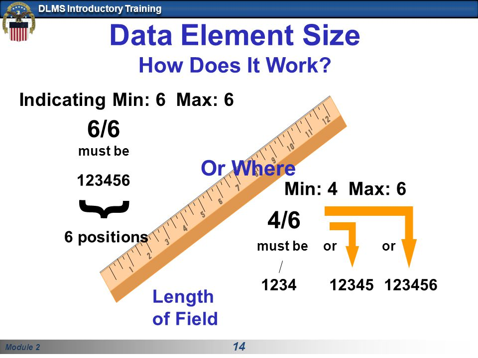 Data Element Size How Does It Work