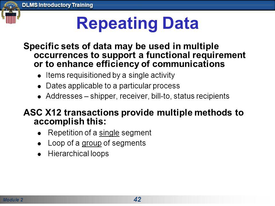 Repeating Data