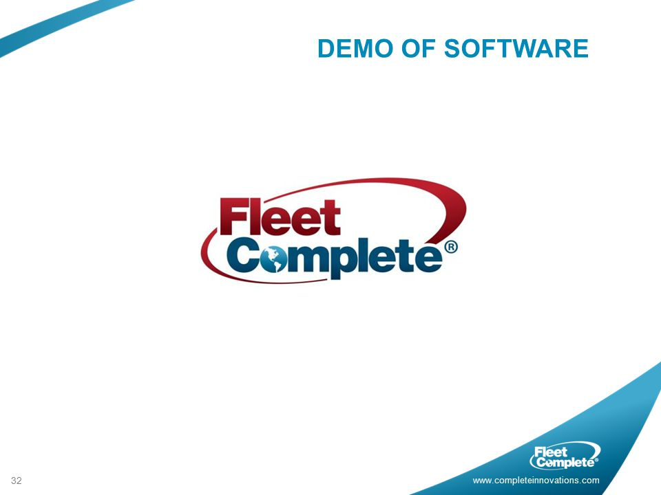 DEMO OF SOFTWARE