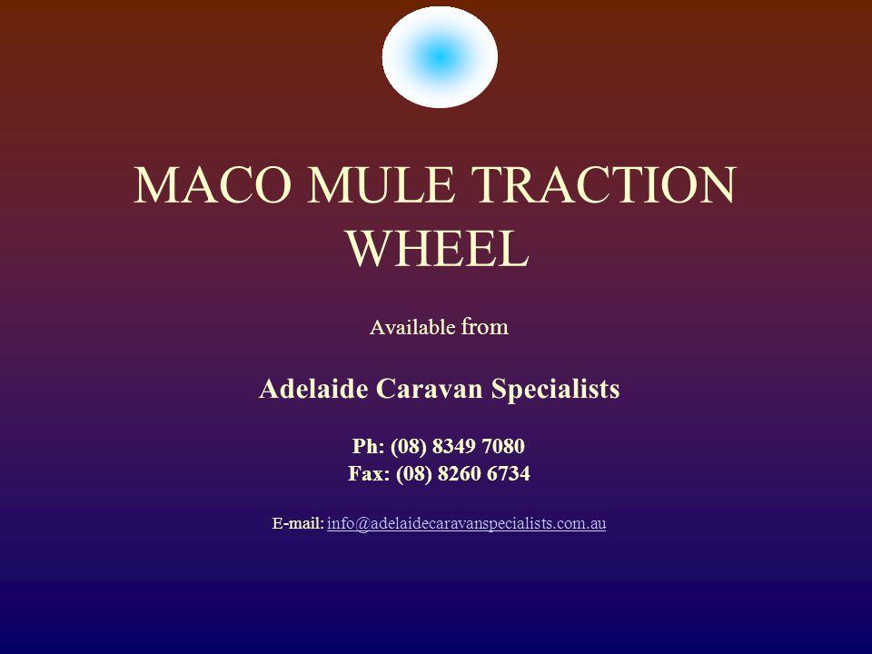MACO MULE TRACTION WHEEL