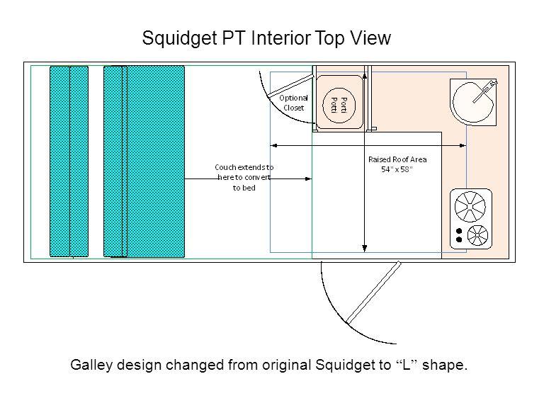 Squidget PT Interior Top View