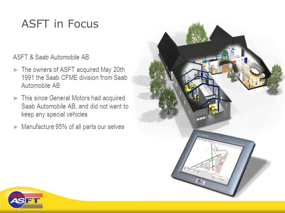 ASFT in Focus ASFT & Saab Automobile AB