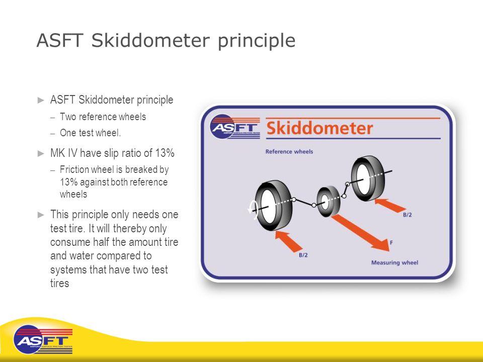 ASFT Skiddometer principle