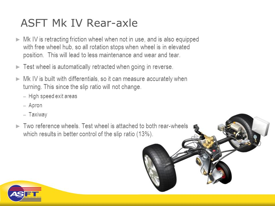 ASFT Mk IV Rear-axle