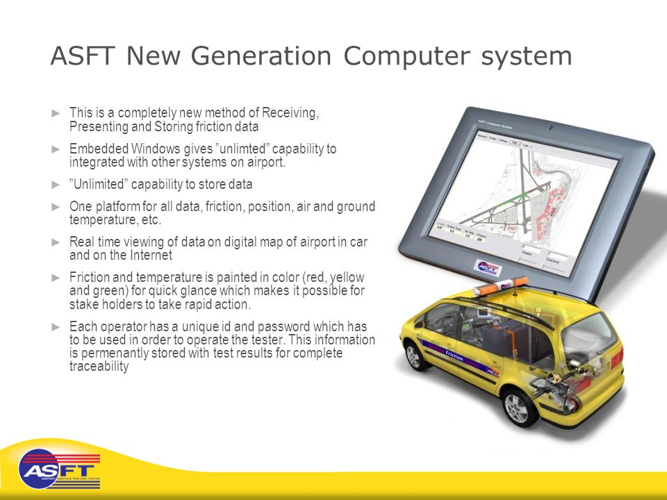 ASFT New Generation Computer system