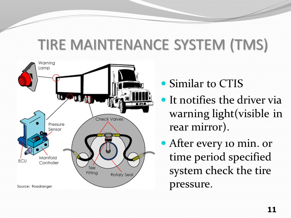 TIRE MAINTENANCE SYSTEM (TMS)