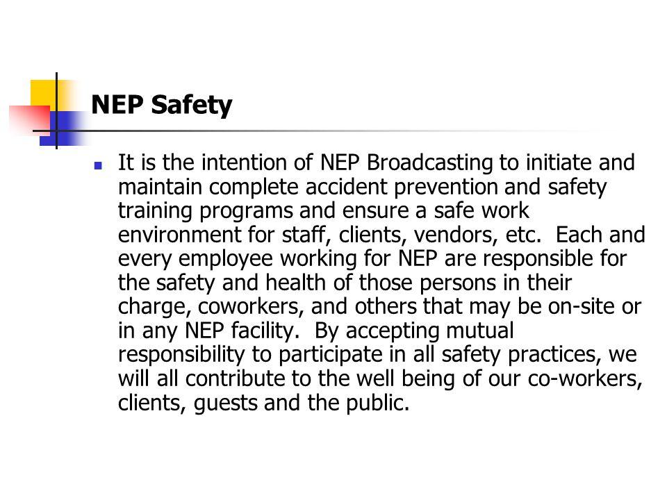 NEP Safety