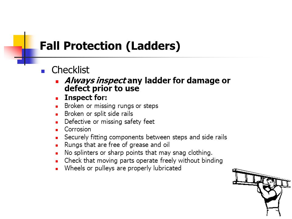 Fall Protection (Ladders)