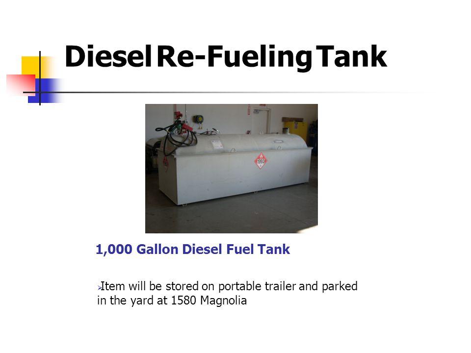 1,000 Gallon Diesel Fuel Tank