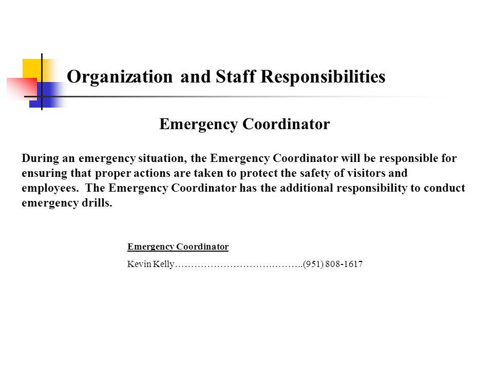 Emergency Coordinator