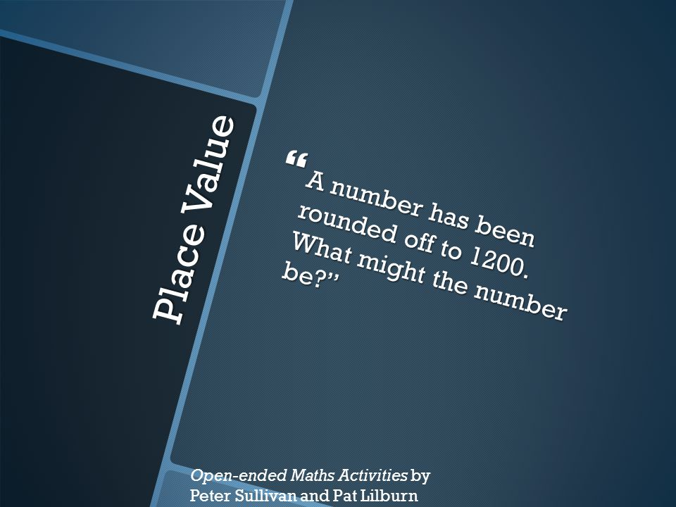 A number has been rounded off to 1200. What might the number be