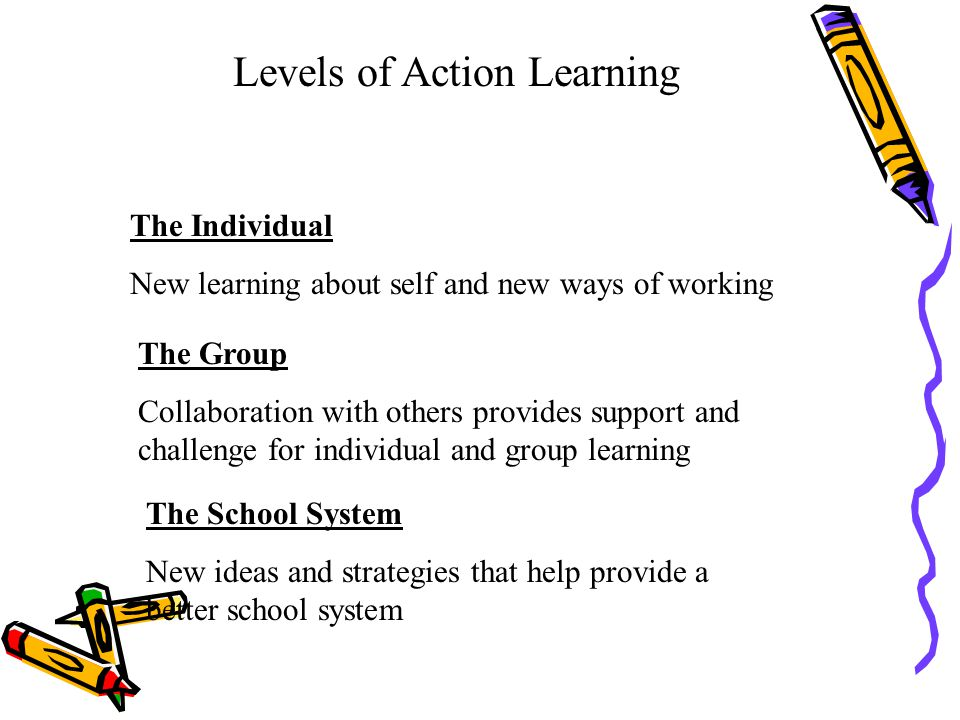 Levels of Action Learning