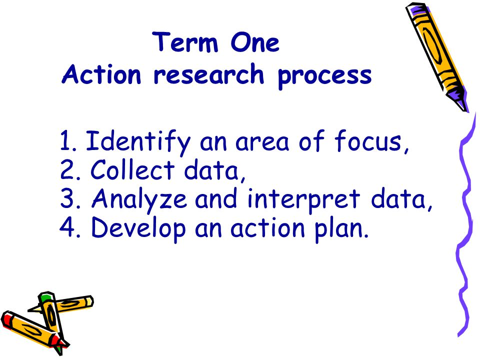 Term One Action research process
