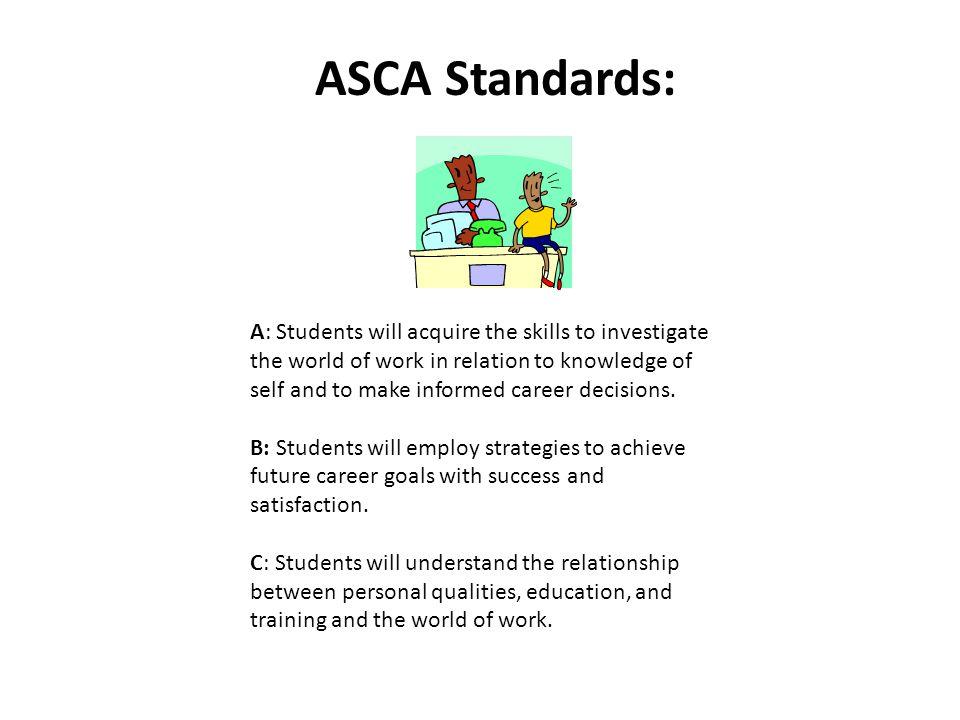 ASCA Standards: