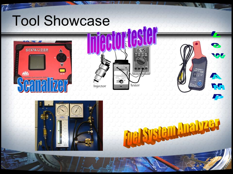 Tool Showcase Injector tester Low AMP Scanalizer Fuel System Analyzer